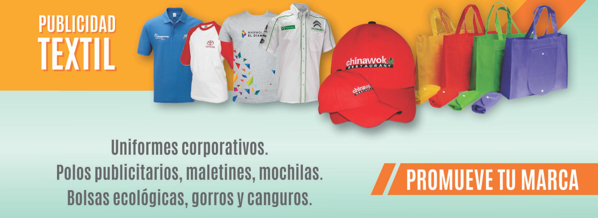 banner web publicidad textil