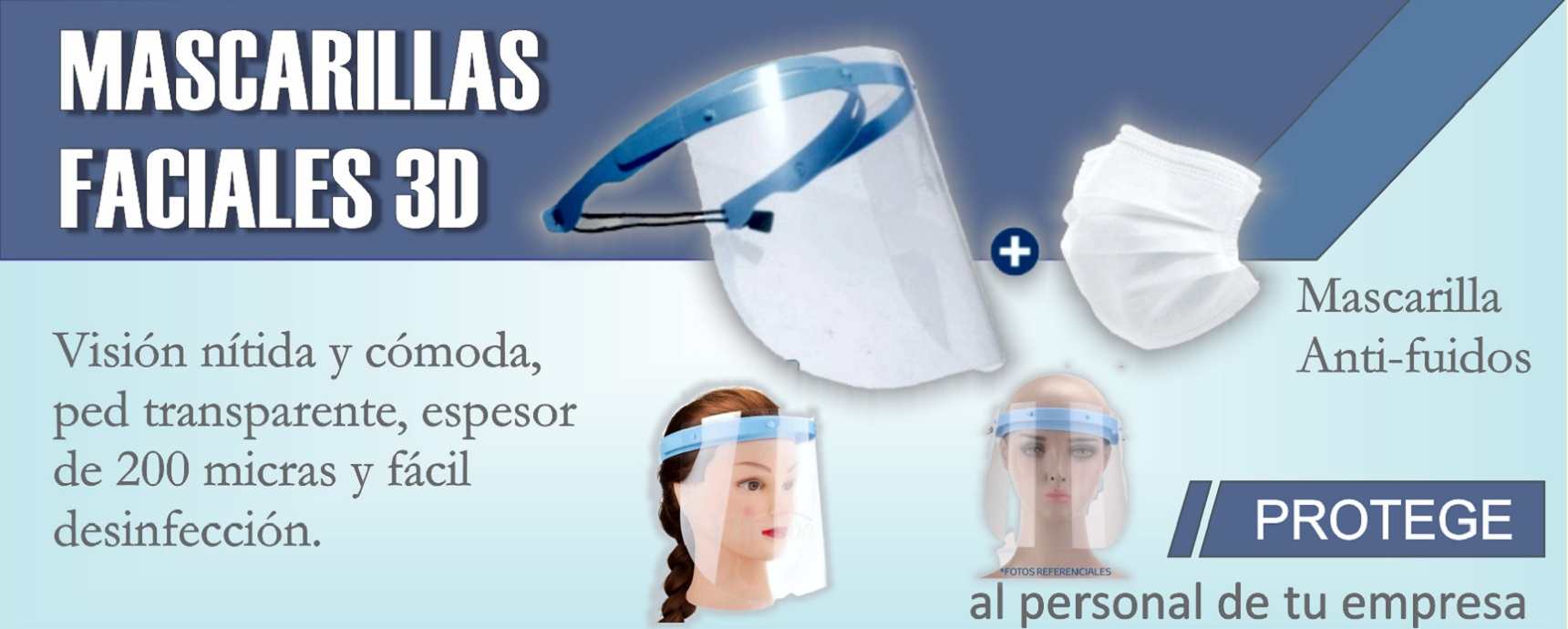 banner mascarillas faciales
